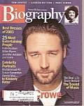 Biography Magazine - Dec. 2003