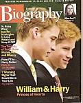 Biography Magazine-nov. 2001