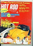 Hot Rod Magazine- October 1976