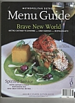 Menu Guide - Metro Detroit - 2006