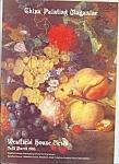 China Painting Magazine - England Lmarch 1986
