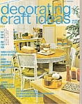 Decvorating Craft Ideas - -may 1975