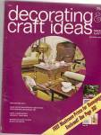 Decorating & Craft Ideas - October 1971
