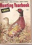 Hunting Yearbook - True Magazine- 1952