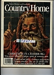 Country Home - December 1986