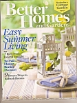 Better Homes And Garden Magazine -= June 2008