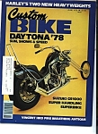 Custom Bike - June- 1978