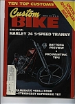 Custom Bike - March 1978