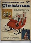 Things To Make For Christmas - Copyright 1960