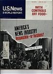 U.s. News & World Report - April 29, 1974
