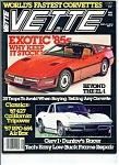 Vette Magazine - May 1985