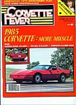 Corvette Fever Magazine - Ocober 1984
