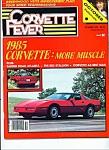 Corvette Fever Magazine - Ocober 1984