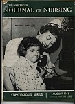 Journal Of Nursing - August 1958