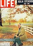 Life Magazine - Adlai Stevenson - July 23, 1965
