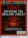 Time - October 7, 1991