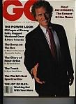 Gq- Gentlemen's Quarterly - September 1988
