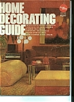 Home Decorating Guide Magazine- Copyright 1973