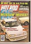 Hot Rod Magazine - Mrch 1989