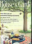 House & Garden Magazine - June 1962