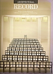 Architectural Record (Mcgraw-hill) Magazine- August 198