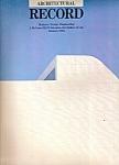 Architectural Record -(Mcgraw-hill) January 1984