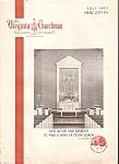 The Virginia Churchman- July 1957