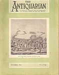 The Antiquarian - November 1926