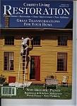 Country Living Restoration - Spring 1996