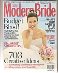 Modern Brides Magazine =- April/'may 2007
