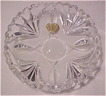 Beautiful Lead Crystal Dish/nappy