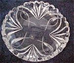 Lead Crystal Dish