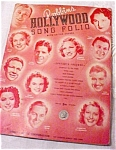 Hollywood Song Folio With Guitar Chords