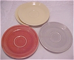 Four Fiesta Saucers