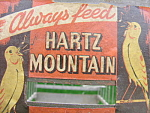 Hartz Mountain Antique Bird Cage Coal Mine Pet Shop Transport