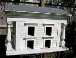 Giant Antique French Bird House Doll House Provance' Mansion 42