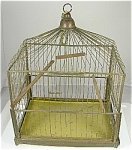 Brass Wire Victorian Antique Bird Cage