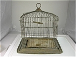 Bird Cage Victorian Antique Osborn