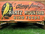 Hartz Mountain Antique Bird Cage Rare Canary Graphics