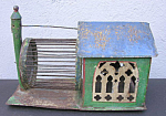 Victorian Mouse House Antique Rodent Cage