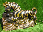 Giant Zebra Tv Lamp Planter