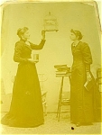 Antique Bird Cage Victorian Ladies Feed Canary Cabinet Photograph ...