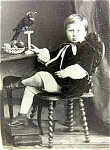 Pet Crow Very Poe Victorian Photo