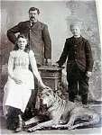 Family Pet Huge Dog Victorian Photo