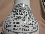 Antique Victorian Medical Inhaler Pottery