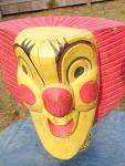 Insane Carnival Clown Circus Cabinet