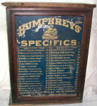 Dr Humphreys Homeopathic Medicine Cabinet