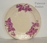 Chesapeake Pottery Faience Avalon Balt Majolica Plate