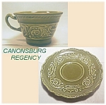 Canonsburg Regency Cup And Saucer Set
