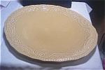 Canonsburg Regency Large Gold Serving Platter